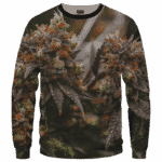 Wonderful Marijuana Kush Nugs All Over Print Sweatshirt