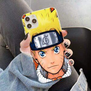 Young Naruto Uzumaki iPhone 12 (Mini, Pro & Pro Max) Cover