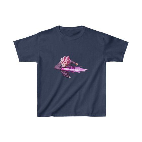Dragon Ball Super Saiyan Goku Black Rose Strike Kids T-shirt
