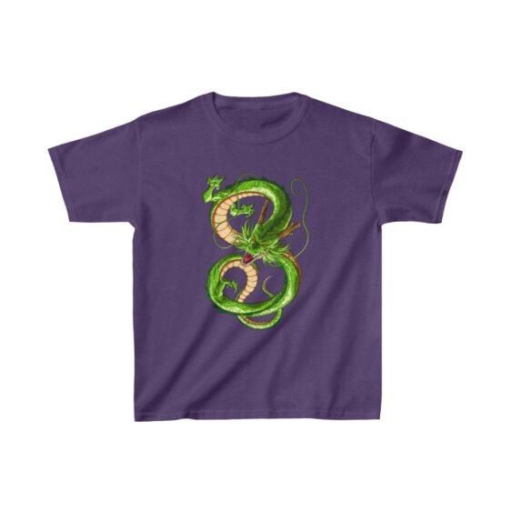 Dragon Ball Z Shenron The Eternal Dragon Kids T-shirt