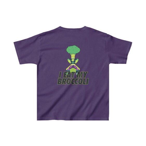 Dragon Ball Z I Eat My Broccoli Legendary Broly Kids T-shirt