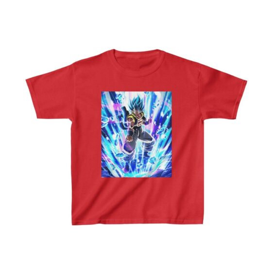 Dragon Ball Z Gogeta Blue All Fired Up Kids T-shirt