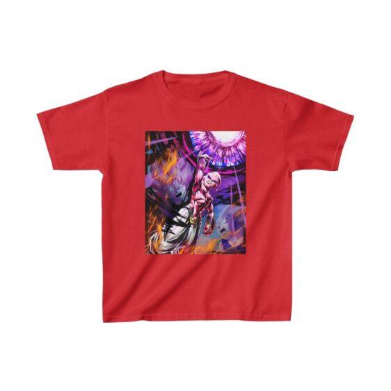 DBZ Goku Vegeta vs Kid Buu The Destroyer Art Kids T-shirt