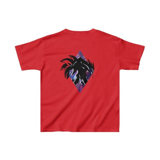 DBZ Goku & Vegeta Super Saiyan SSJ4 Galaxy Kids T-shirt