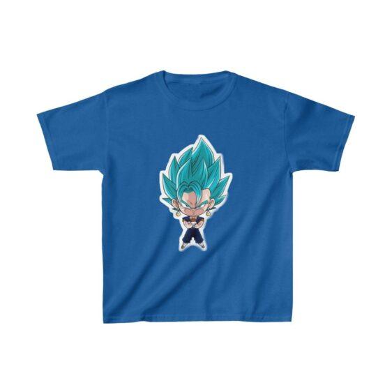 Dragon Ball Vegito Super Saiyan Blue Cute Kids T-shirt