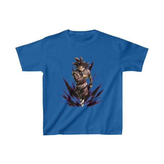 Dragon Ball Z Goku Black Cool Pose Kids T-shirt