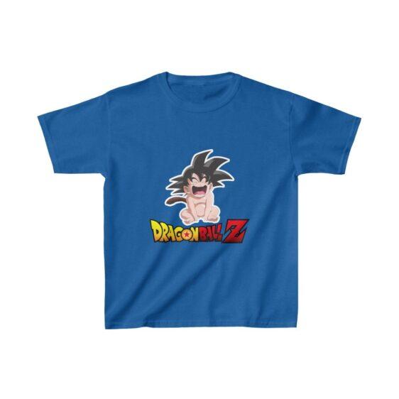 Dragon Ball Z Cute Funny Baby Goku Crying Kids T-shirt