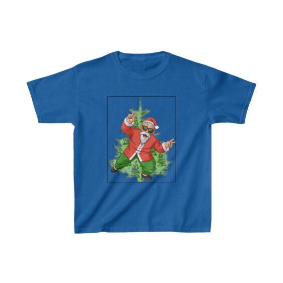 Dragon Ball Z Awesome Santa Master Roshi Kids T-shirt