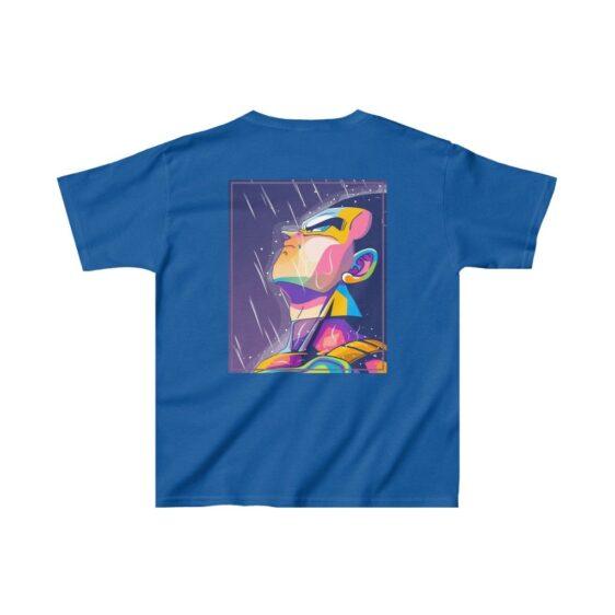 Dragon Ball Z Super Saiyan Prince Vegeta Colorful Kids T-Shirt