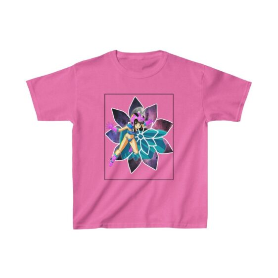 Dragon Ball Z Young Chi Chi Galaxy Flower Cute Kids T-shirt
