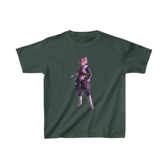 DBZ Goku Black Super Saiyan Rose Awesome Kids T-shirt