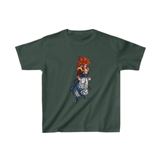 DBZ Gogeta Super Saiyan 4 Awesome Kids T-shirt