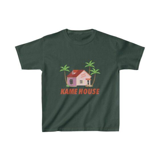 Dragon Ball Z Master Roshi's Kame House Cool Art Kids T-shirt