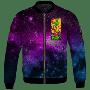 Calming Potent Alien Kush Hybrid Marijuana Bomber Jacket