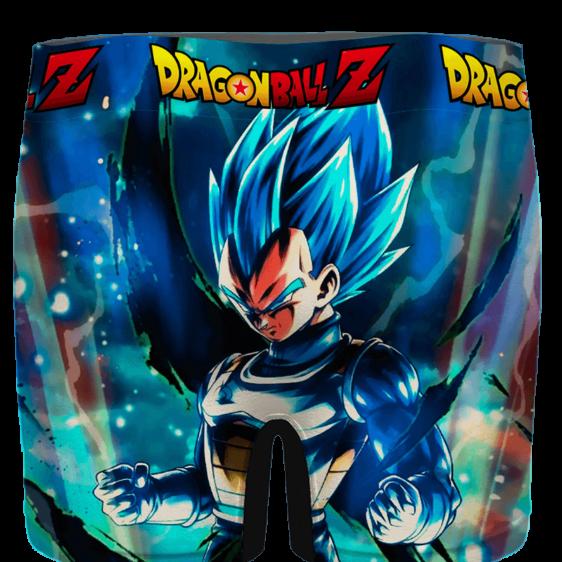 DBZ Amazing Vegeta Blue Posing Aura Men's Underwear - back