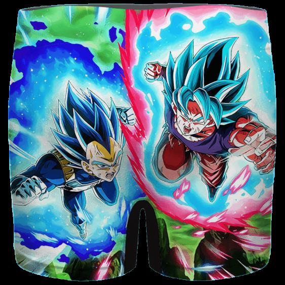 DBZ Goku Vegeta Super Saiyan Blue Cool Men's Brief