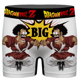 DBZ Mr Satan Shocked By Your Size Funny Men's Boxer Brief
