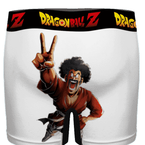 DBZ Mr Satan Shocked By Your Size Funny Men's Boxer Brief - back