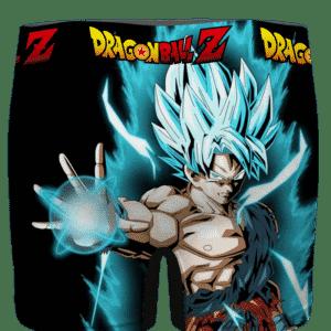 DBZ Super Saiyan Blue Goku Battle Mode Cool Men's Boxer