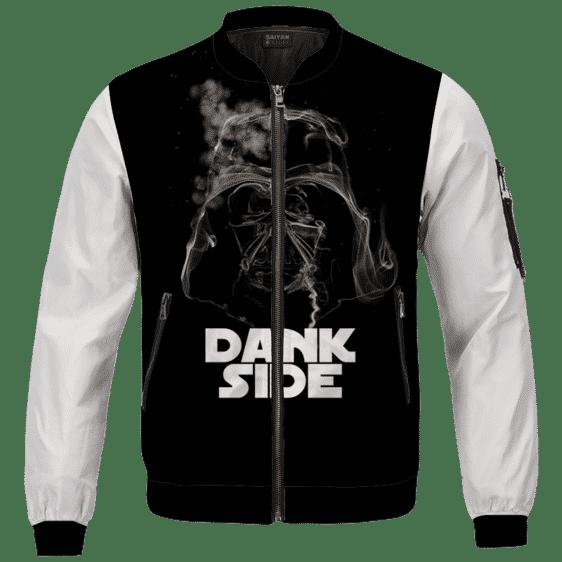 Darth Vader Smoke Dank Side Spoof Parody Bomber Jacket