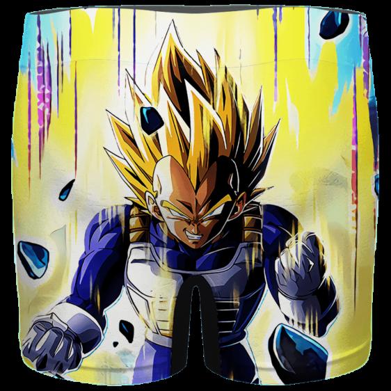 Dragon Ball Charging Super Saiyan Vegeta Dokkan Art Men's Brief