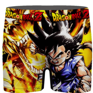 Dragon Ball GT Kid Goku Dope Dragon Men's Boxer Brief