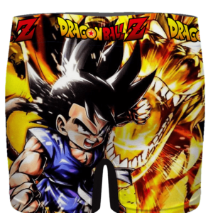 Dragon Ball GT Kid Goku Dope Dragon Men's Boxer Brief - back