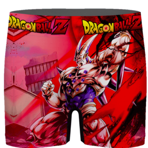 Dragon Ball GT Omega Shenron Awesome Red Men's Boxer