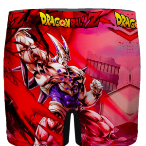 Dragon Ball GT Omega Shenron Awesome Red Men's Boxer - back