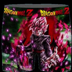 Dragon Ball Goku Black SSJ Rose Card Art Men's Underwear