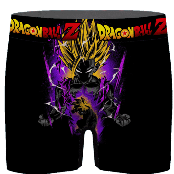 DBZ Kid Gohan Awesome Poster Art Cool Men's Boxer Brief