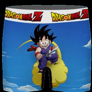 Dragon Ball Kid Goku Flying Nimbus Blue Men's Boxer