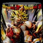 Dragon Ball Legends Super Saiyan Broly Red Costume Men's Brief