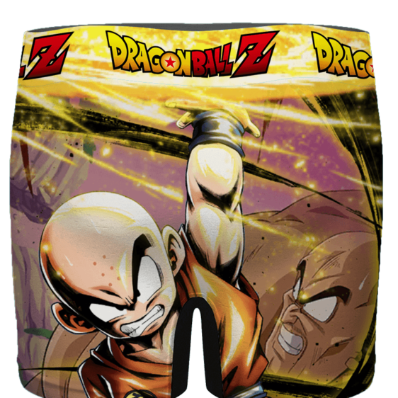 Dragon Ball Rare Sight Of Angry Krillin Cool Men's Brief - back