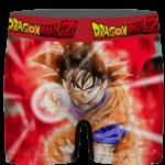 Dragon Ball Super Goku Red Kaioken Energy Epic Punch Men's Underwear