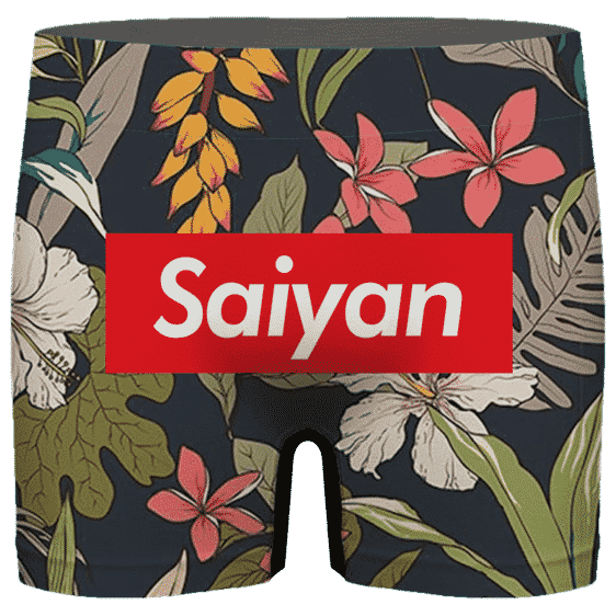 Dragon Ball Supreme Saiyan Floral Cool Dope Men's Boxer Brief