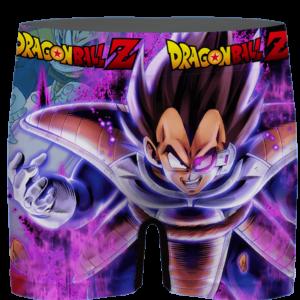 Dragon Ball Vegeta Base Form Purple Awesome Men's Brief