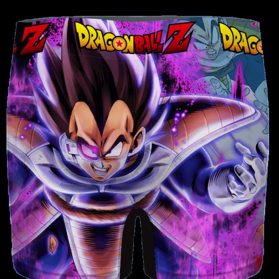 Dragon Ball Vegeta Base Form Purple Awesome Men's Brief - back