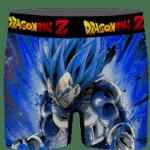 Dragon Ball Vegeta Super Saiyan Blue Charged Up Men's Underwear