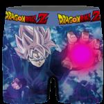 Dragon Ball Z Attacking Goku Black Saiyan Rose Dope Men's Underwear