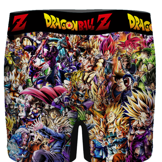 Dragon Ball Z Family Of Characters Cool Dope Men's Boxer - back