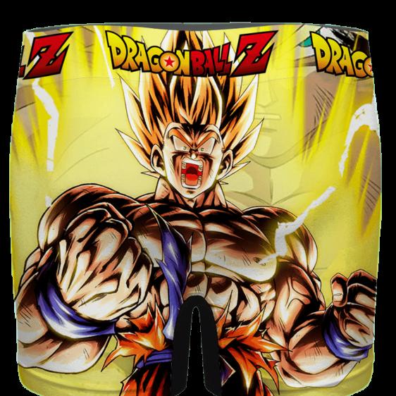 Dragon Ball Z Goku Charging SSJ2 Cool Men's Underwear - back