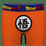 Dragon Ball Z Goku Uniform Logo Minimalist Men's Boxer Brief
