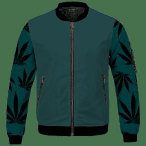 I'd Hit That Marijuana Bong Dope Colored 420 Bomber Jacket