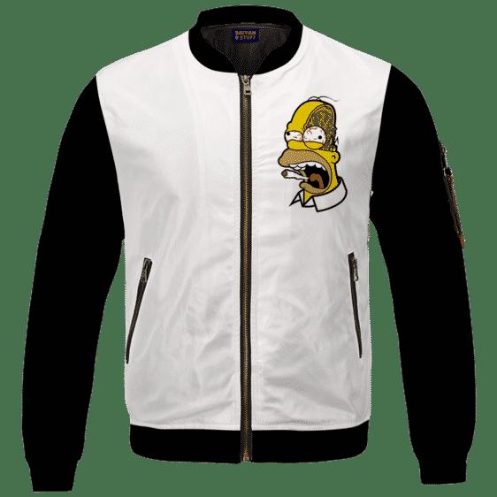 Marijuana Enthusiast Stoned Homer Simpson Awesome Bomber Jacket