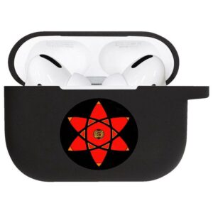 Red & Black Mangekyou Sharingan Eye Airpods Pro Case