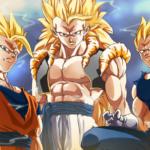 Goku Vegeta Gogeta Fusion SSJ3 Dragon Ball Z HD Wallpaper