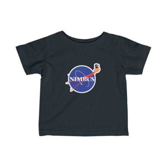 Dragon Ball Z Kid Goku Flying Nimbus NASA Parody Baby T-shirt