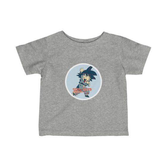 Dragon Ball Z Cute Goku Naughty Face Cool Baby T-shirt