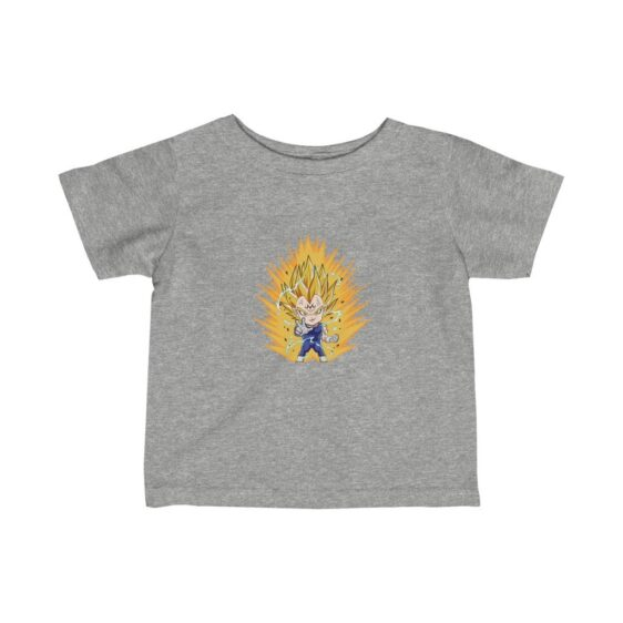 Dragon Ball Majin Vegeta Chibi Dope Art Fine Baby T-shirt